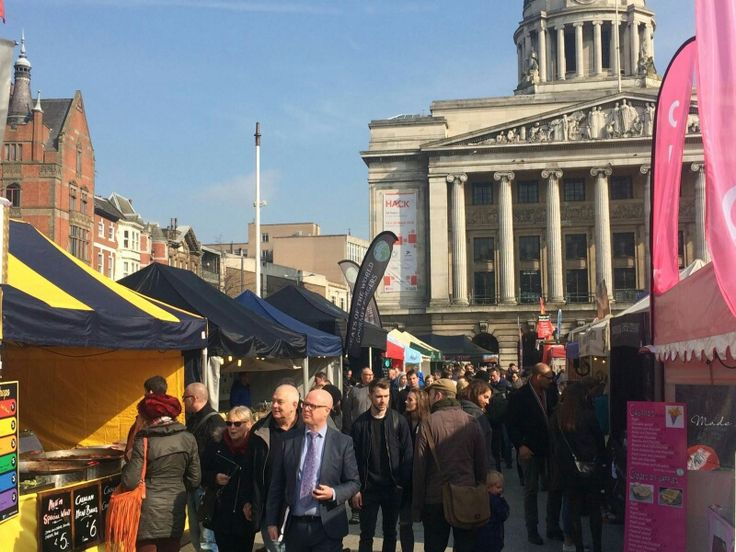 One of our first events of the year! The Nottingham Global Village Market (9th - 13th March 2016) #LYLM2016