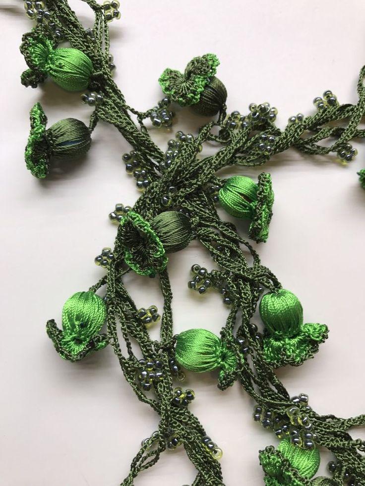 handmade Necklace Crochet Unique freeshipping Mother's day  gift Turkish Oya    eBay
