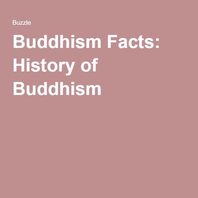 Buddhism Facts: History of Buddhism