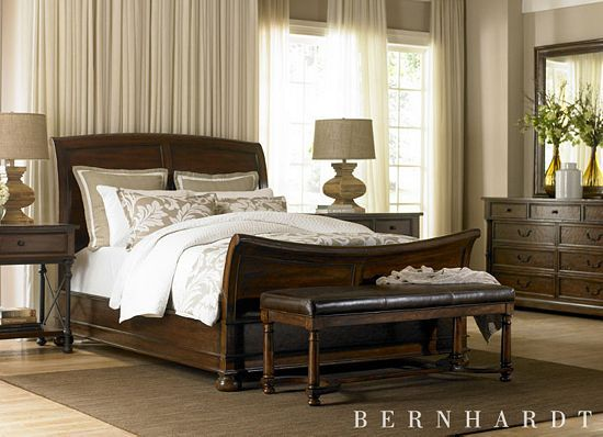 Master bedroom set we have picked out. This will be the next thing we get. Bernhardt
