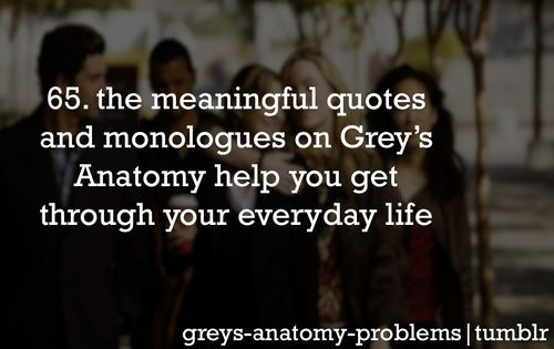 grey's anatomy problems - Google Search