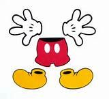 free mickey mouse printables hands - Yahoo Image Search Results