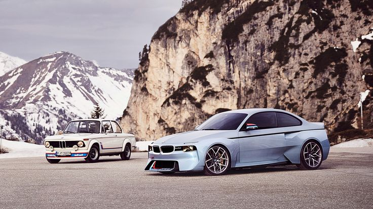 2016 BMW 2002 Hommage Concept http://www.wsupercars.com/bmw-2016-2002-hommage-concept.php