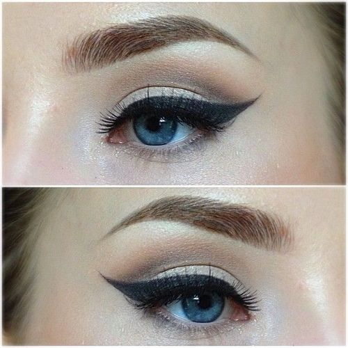 Perfect Cat Eye Makeupbag Tumblr Makeup Beauty