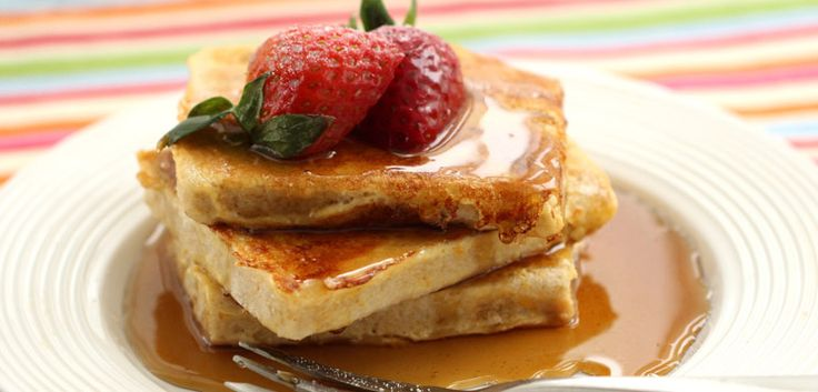 Give French toast an extra muscle-building kick with this sweet breakfast recipe that's high in protein and big on flavor!