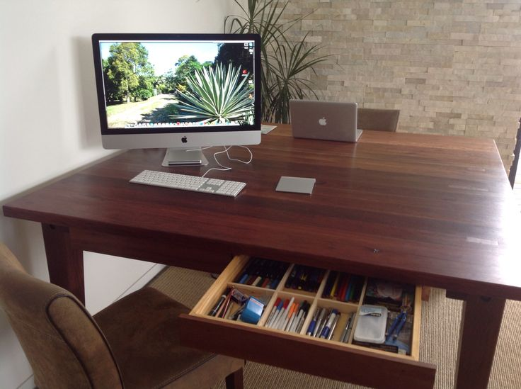 Office desk for two