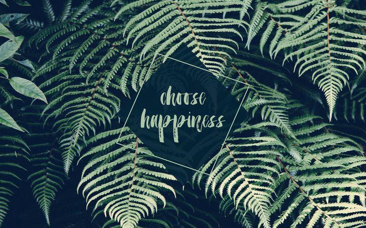 Green ferns palms botanical Happiness desktop background wallpaper