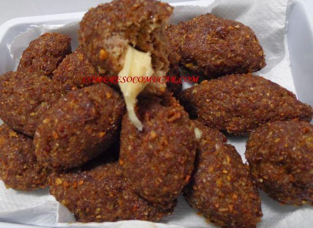 MINIQUIBES SUPER RÁPIDOS RECHEADOS - Ingredientes: 500gs de carne moída de boa…
