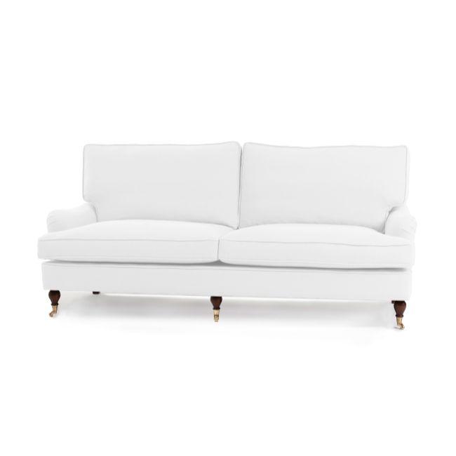 Howard 3-sits soffa - Vit Rika - TheHome - Möbler online #soffa #howard