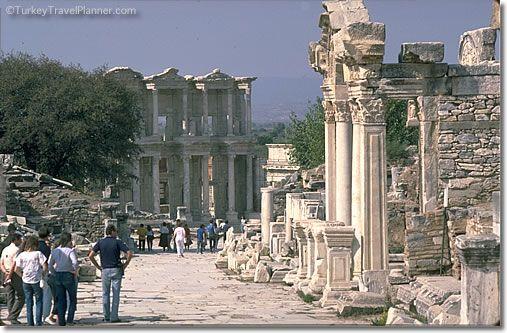 Ephesus, Turkey  Greek ruins a short trip from Samos, Greece!