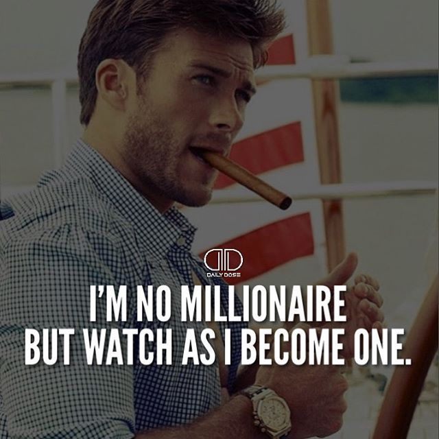 Tag someone who's going to be a millionaire  @gentlemensentourage _ #millionaire #success #money #motivation