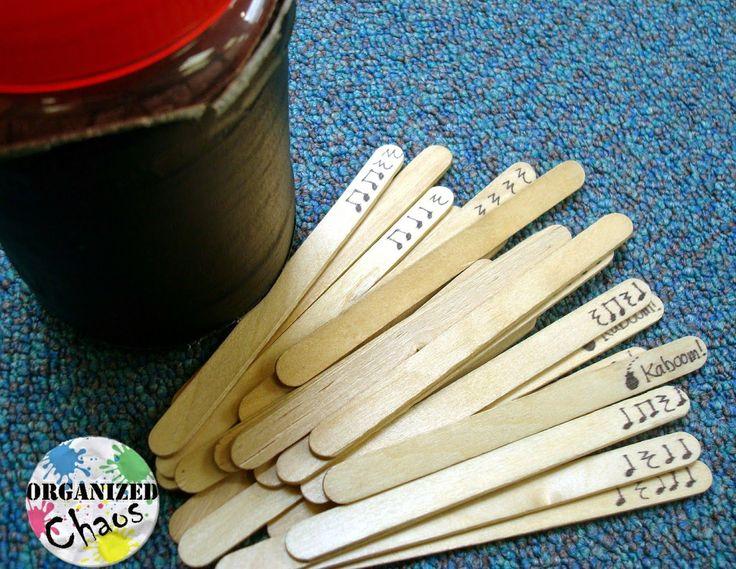 Organized Chaos: Teacher Tuesday: center ideas for teaching rhythm