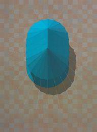 Kristian Krokfors, 'Urban Tent 2 (Blue),' 2014, PRATT CONTEMPORARY / PRATT EDITIONS