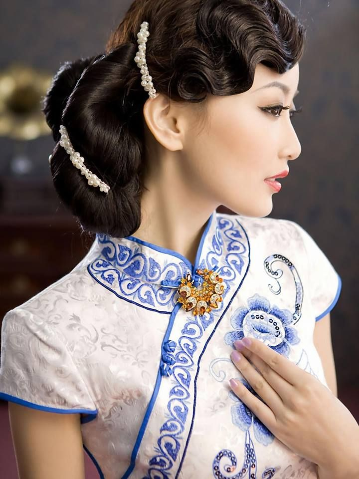 Pin by CultureInCart on Chinese Cheongsam  Qi Pao