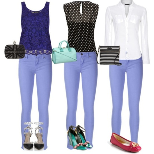 Currently Coveting - Lavender Jeans