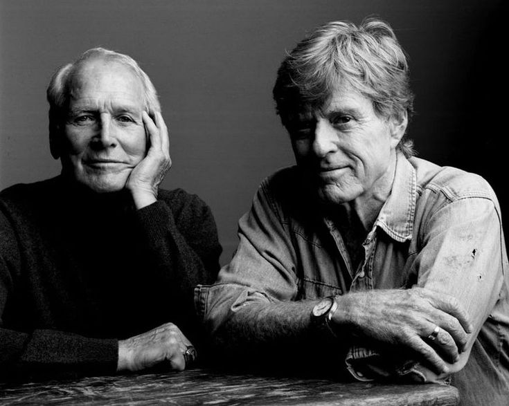 Aged perfection; Newman & Redford, by Mark Seliger