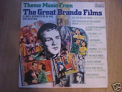 ELMER BERNSTEIN & HIS ORCHESTRA -THE GREAT BRANDO FILMS