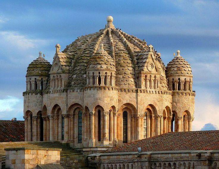 Cúpula románica gallonada de la Catedral de Zamora Autor Foto desconocido
