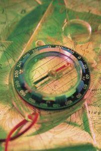 Compass orienteering activities for children.