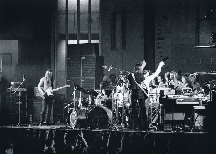 Pink Floyd Lyon, France 1971 from the book Pink Floyd- The Black Strat