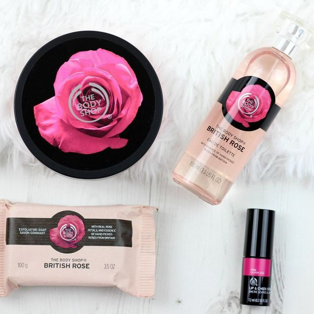 If you're a fan of the smell of rose then you'll love the The Body Shop British Rose Collection. Their newly released English rose inspired range includes a selection of gorgeous products, all made wi