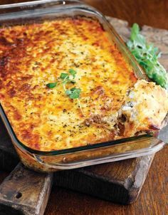 """Double Click Slowly on Pic for Recipe....Low Carb Meat Lasagna.... by George Stella ...visit us at """"Low Carbing Among Friends"""" on Facebook"""