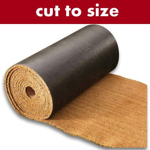 Made to Measure Superior PVC Backed Coir Matting - Coir Matting Cut to Size - Coir Door Mats = always wanted this for the barn floor
