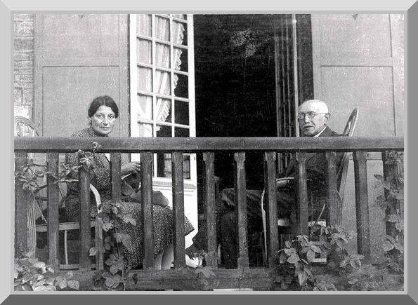 Lucie y Alfred Dreyfus (1934)