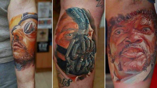 TVEstudio: Un tatuador ucraniano que hace los tatuajes más realistas del mundo