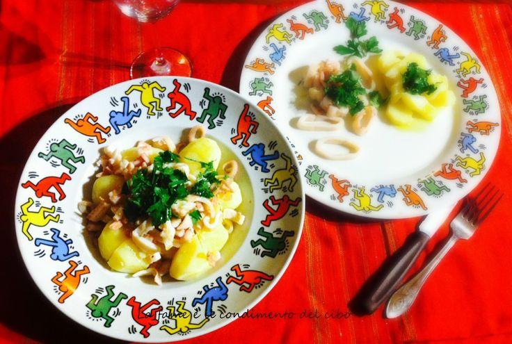 Con l'arrivo del caldo niente di meglio che #INSALATA DI MARE, vero? Ecco una gustosa insalata di moscardini e #patate...