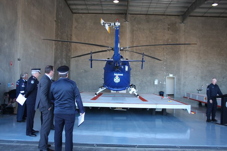 At the launch of Polair2