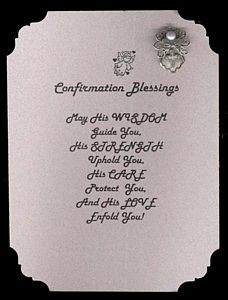 blessings poem inspirational | Name: Confirmation Blessings Angel Pin Set