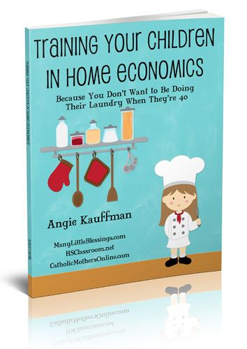 Training Your Children in Home Economics (Life Skills) eBook - Contains printable forms and ideas for all ages