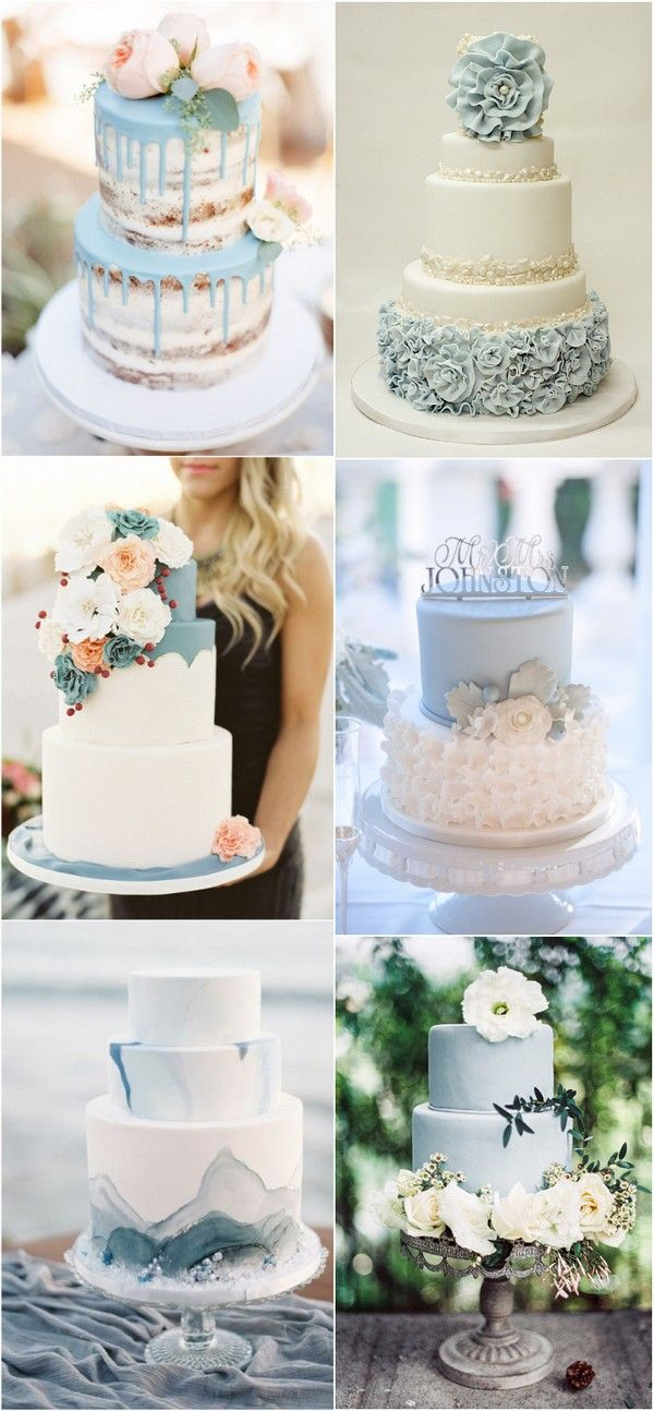 24 Brilliant Dusty Blue Wedding Color Ideas | Wedding ...