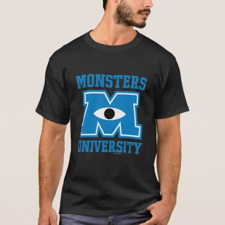 Monsters University Blue Logo T-Shirt - tap, personalize, buy right now!