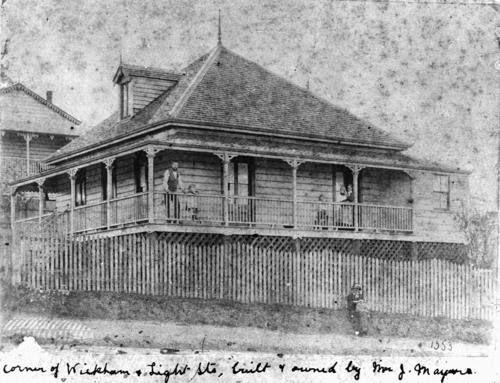 Old original Queenslander home 1