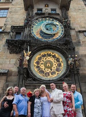 Old Town Tower Wedding, Prague £1300
