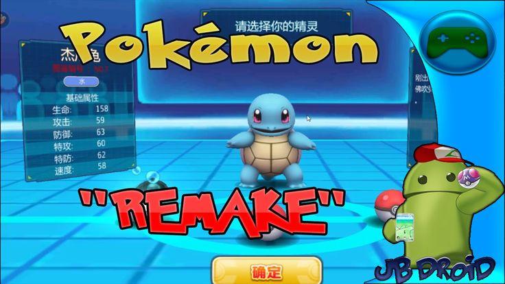 """Pokemon """"Remake"""" Android - Um Clone De Pokemon Melhor Que Pokemon GO"""