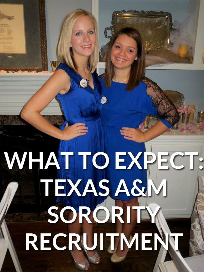 What To Expect: Texas A&M Sorority Recruitment