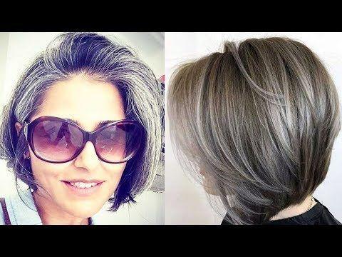 Cortes de pelo para mujeres de 50 años y mas - Moda para mujer TV - YouTube