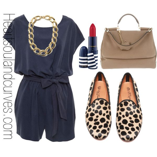"""Causal Chic"" by adoremycurves on Polyvore.... love it!! Would rock it w sandals tho... :)"