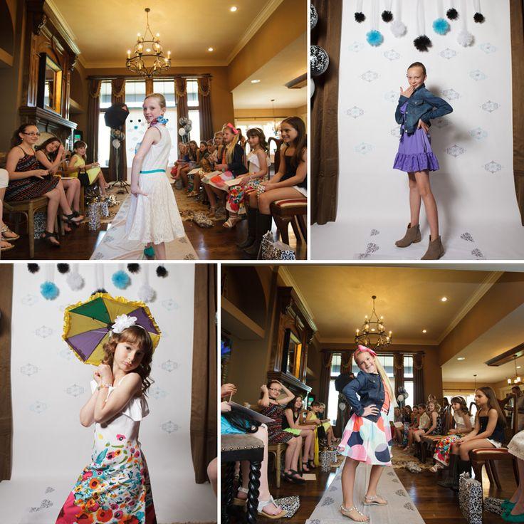Fashion Show Birthday Party photo