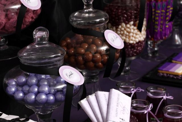 """Photo 1 of 31: Purple & Black ~ 'Sophisticated Tween' / Birthday """"Ruby's 13th Birthday""""   Catch My Party"""