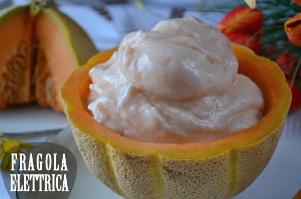 GELATO AL MELONE fragolaelettrica.com Le ricette di Ennio Zaccariello #Ricetta
