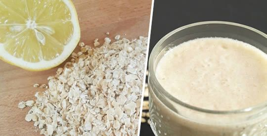 Frullato di avena, limone e mela per perdere peso | Rimedio Naturale