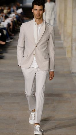 Hermes Men Spring 2013 So perfect in so many ways.