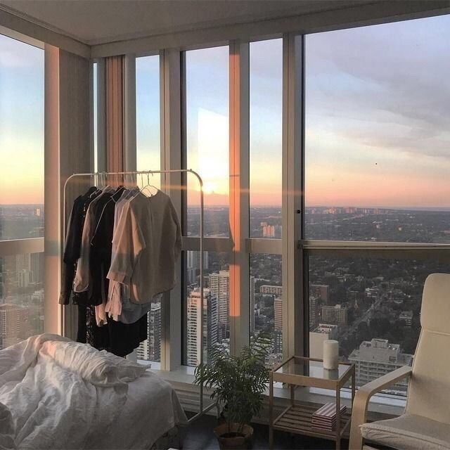 City Apartment, Decor, New York, Aesthetic, Small, Living