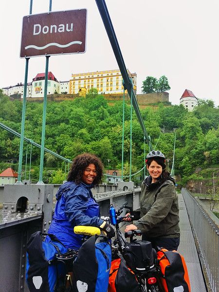 Danube river eurovelo 6 cycle route