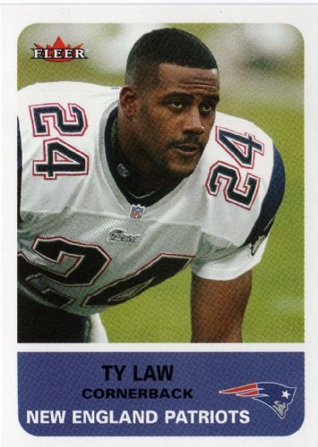 #1 LCB #17 Patriot 1995 2004 Ty Law