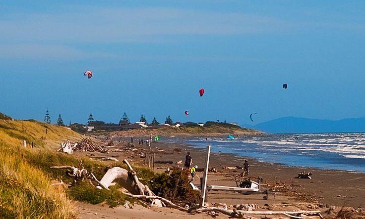 Waikanae Beach, see more at New Zealand Journeys app for iPad www.gopix.co.nz